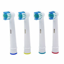 4Pcs Brush Heads For Oral-B Electric Toothbrush fit Braun Professional Care