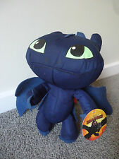 HOW TO TRAIN YOUR DRAGON 2  - TOOTHLESS  PLUSH / SOFT TOY 30CM OFFICIAL BNWT