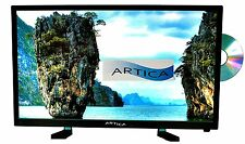 "24"" Artica 12 Volt AC/DC LED Digital HDTV w/ DVD Player, Remote Control AR2418"