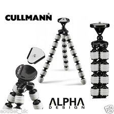 Cullmann Alpha Design 380 Flexi-pod Light-weight Travel Tripod - Grey Flexible