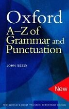 Oxford a-Z of Grammar and Punctuation-ExLibrary