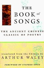 The Book of Songs: The Ancient Chinese Classic of Poetry, , Good Book