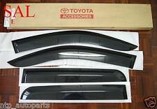 TOYOTA HILUX MK6 MK7 SR SR5 SIDE VISOR RAIN SHIELD WIND DEFLECTOR GUARD D-CAB 06