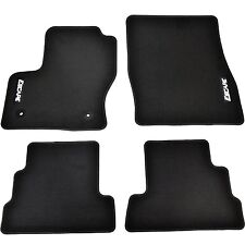 OEM NEW 13-16 Ford Escape Premium BLACK Carpet Floor Mats Embroidered Logo-ALL 4