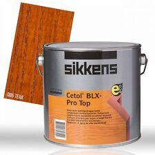 Sikkens Cetol BLX-Pro TOP teak 2,5l - Dickschichtlasur Holzlasur Holzschutz