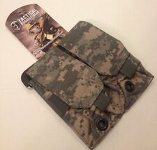 NEW TACTICAL ASSAULT GEAR TAG ACU DOUBLE MAG POUCH HOLDS 4 MAG TACTICAL MILITARY