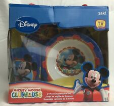 Disney Mickey Mouse Clubhouse Kid 3 Piece Dinnerware Set