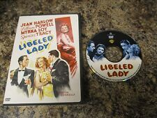 LIBELED LADY  DVD    FAST/FREE SHIPPING