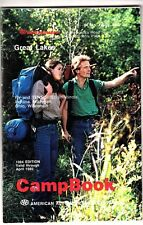 Great Lakes AAA Camp Book 1984 Edition RV Tent Sites IL IN MI OH WI