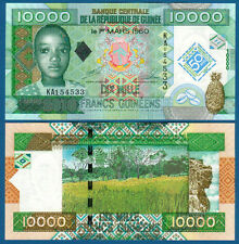 GUINEA 10.000 Francs 2010 Commemorative UNC  P. 45