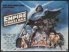EMPIRE STRIKES BACK 1980 30x40 UK poster Exc. condition Star Wars filmartgallery