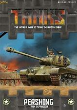 TANKS03 US PERSHING TANKS! EXPANSION GALE FORCE NINE BATTLEFRONT -SENT 1ST CLASS