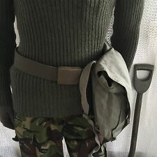 vintage swedish gas mask bag webbing army surplus mod miliaryhunting shooting