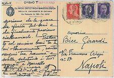 ITALIA :  storia postale - AFFRANCATURA D'EMERGENZA con POSTA MILITARE 1945