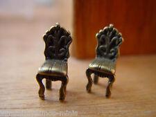 Casa De Muñecas 12th escala par de la Muñeca Casa De Muñecas Silla's!!! Oferta por ellos ahora!!!