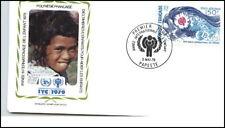 Fr. Polynesien PAPEETE 1979 FDC Jahr des Kindes Brief