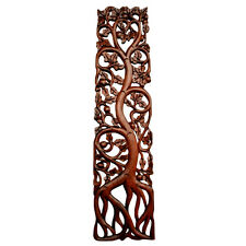 Tree of life World tree Wall ornament Soar Wood hand-carved Yggdrasil