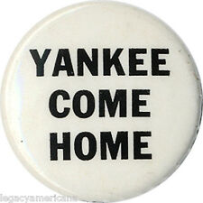 c. 1968 Vietnam War Protest YANKEE COME HOME Troop Withdrawal Button (1860)