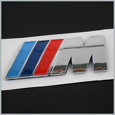 BMW M REAR BOOT BADGE SPORT POWER TEC 1 3 4 5 6 SERIES M3 M5 X5