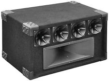 SoundLAB Black 400W 5 Way Music Stage Tweeter PA Speaker System