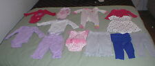 Everyday,Baby girls clothes 0-3 months lot of 24 pieces CARTERS, PUMA AND MORE