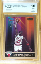 1990-91 #41 Skybox Michael Jordan Bulls Gem MT 10 Modern Original NBA Card