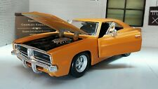 G LGB 1:24 Scale Dodge Charger R/T 1969 Maisto Diecast Model Car 31256 Kit