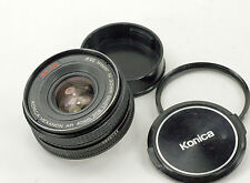 Konica Hexanon AR 40mm f1.8 Manual Focus camera Lens
