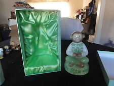 Green Monkey Piggy Bank In The Box By Kelly Rightsell -- Exquisite
