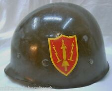 CASQUE US LINER USA ORIGINAL  MP MILITARY POLICE  VIETNAM 3
