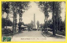 cpa France FORÊT de SENART (Essonne) FÊTE FORAINE à la PYRAMIDE Manège Carousel