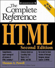HTML: The Complete Reference by Thomas A. Powell (Mixed media product, 1999)