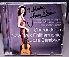 Rodrigo:Concierto de Aranjuez autographed by Sharon Isbin 2564 60296-2 Serebrier