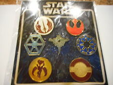 Star Wars Emblem Lot Of 7 Disney Pins NEW