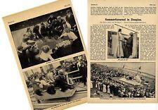 Der Sommerkarnevall im englischen Seebad Douglas 1911