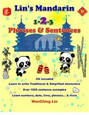 Chinese for Children -Learn Phrases & Sentences-Speed Learning-Paperback & 2 CDs