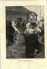 1907 Anders Zorn ~ Maientanz ~ Maytime Dance - German Artwork
