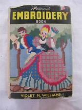 "VINTAGE 1950's ""PEARSON'S EMBROIDERY BOOK"" - NEEDLEWORK SEWING INSTRUCTION BOOK"