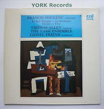 CRD 1137 - POULENC - La Bal Masque / Sextet  / Le Bestiaire / Trio Ex LP Record