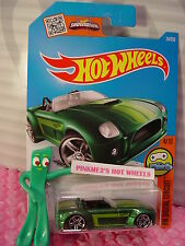 Case G/H 2016 i Hot Wheels FORD SHELBY COBRA CONCEPT #24✰Green;✰DIGITAL CIRCUIT