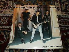 "Johnny Diesel & the Injectors: Don't need love  7"" BRAND NEW VINYL EX SHOP"