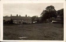 Brandsby near Easingwold by Fox, York. Field, House & Washing Line.