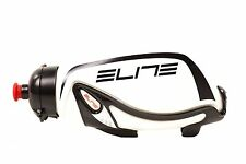 Elite TT Road Bike Bicycle Time Trial Triathlon Aero Water Bottle w/ Carbon Cage