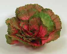 "Designer Large Artificial Faux Fake Watermelon Kale with 3"" Stem Vegetable"