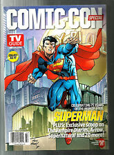 TV GUIDE-2013-COMIC-CON-SUPERMAN-BATMAN-DOUBLE SIDED COVER-SUPERNATURAL-NML