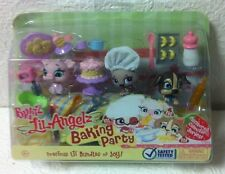 BRAND NEW BRATZ LIL ANGELZ BAKING PARTY PETZ PETS COLLECTOR SERIES 701-708-780