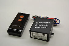 MSD 3V DC switch with momentary remote control transmitters RS301M