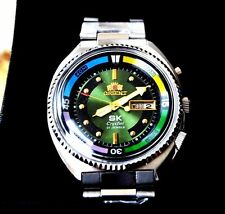 ORIENT    WATCH RELOJ  ORIENT SUPER KING  AUTOMATICO SIN USAR  NOS VERDE OSCURO