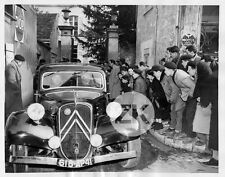 CITROËN TRACTION AVANT Justice AMANTS DE VENDOME Algarron Labbe Pub Photo 1955