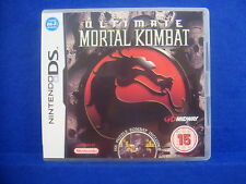 *ds ULTIMATE MORTAL KOMBAT (No Manual)  Lite DSi 3DS Nintendo PAL